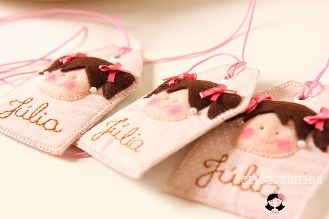 Cute idea for gift tags - personalize for each specific child/person