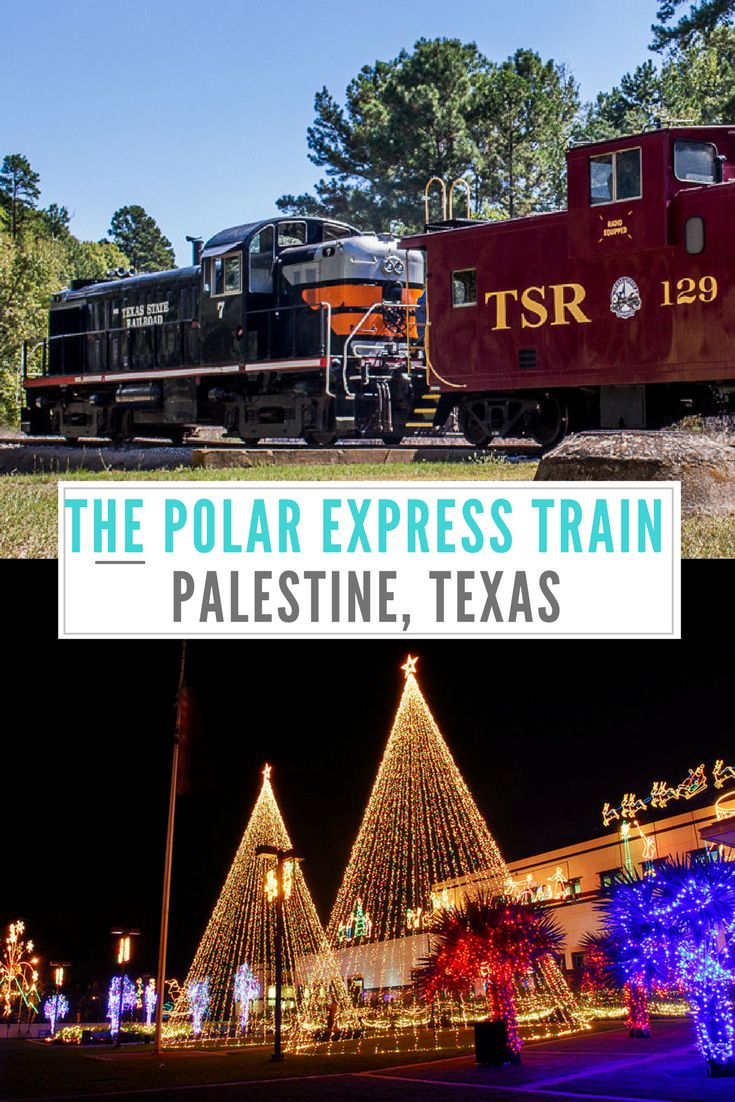 2017 Holiday season begins soon - Know everything you need to know about the popular holiday train ride, the Polar Express at Palestine, Texas. Best time to ride, ride tips, photos and more.