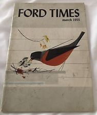 Ford Times Magazine March 1955 Back Issue Billy The Kid Zwaanendael Museum