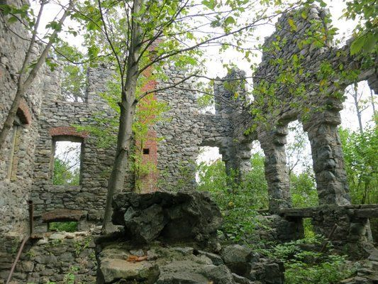 Foxcroft Mansion ruins | Ramapo NJ | my New Jersey | Ruins ...