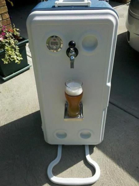 Corny Cooler Portable Kegerator - Home Brew Forums
