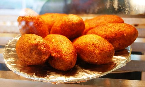 Popular Puerto Rico Food Dishes   Who doesn't like the recently fried Alcapurrias? The best are from Pinones and filled with crab!