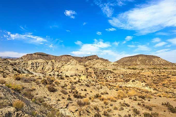 Ruta por el desierto de Tabernas y la esencia de Almería.