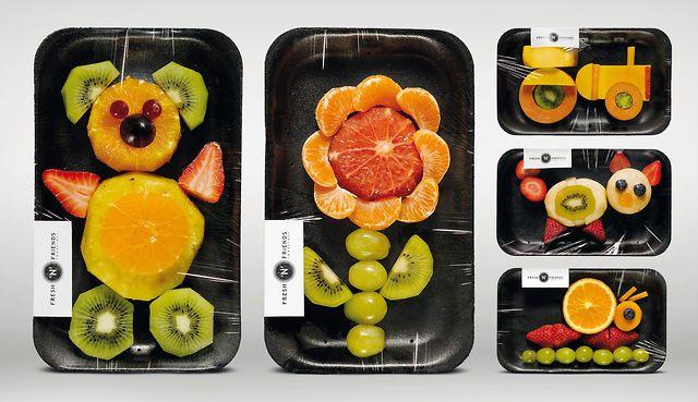 FRESH'N'FRIENDS - Fruit Figures by Bjene Kernhardt