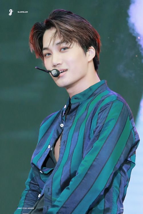 Kai - 161008 DMC Korean Music Wave Festival Credit: GLAMSLAM. (DMC 코리아 뮤직 웨이브 페스티벌)