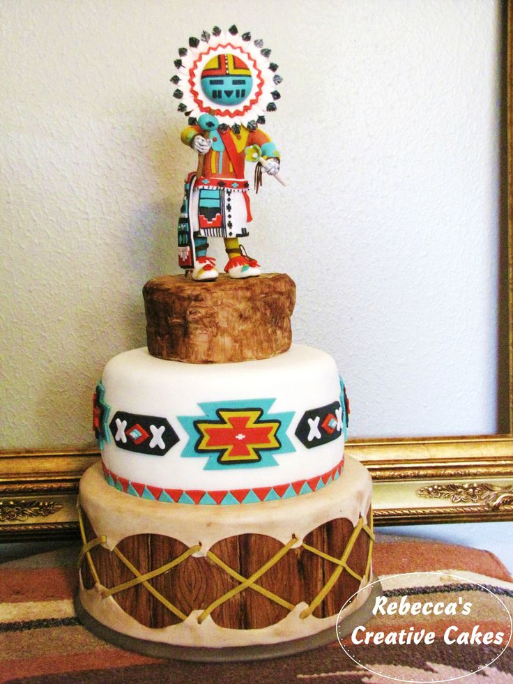 how to make a drum cake without fondant
