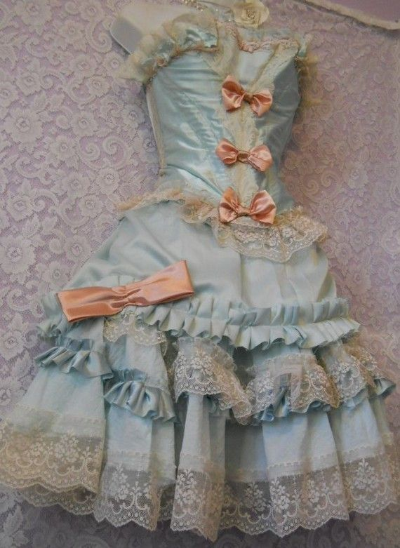 Marie Antoinette dress by Vintage Opulence