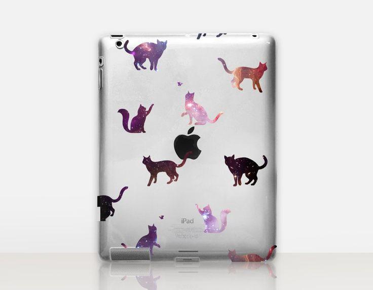 Star Cats Transparent iPad Case
