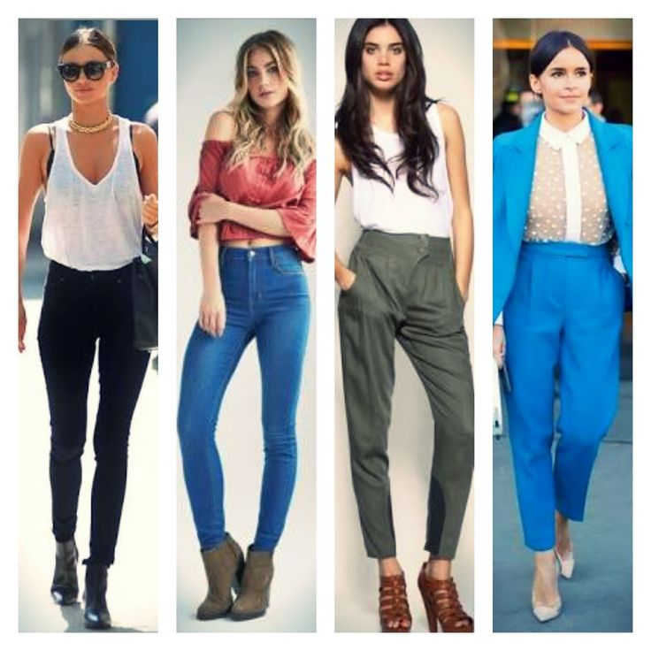 How to dress The Highwaisted Pant