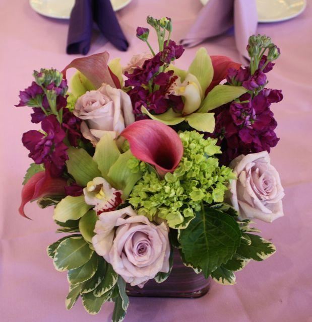 Wedding Flowers Sangria Color