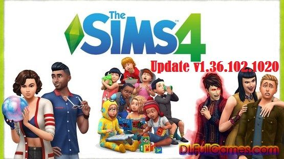 Download The Sims 4 Update v1.36.102.1020 For Pc Full Version