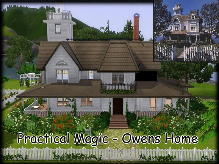 Owens Home from the movie Practical Magic  Found in TSR Category 'Sims 3 Residential Lots'