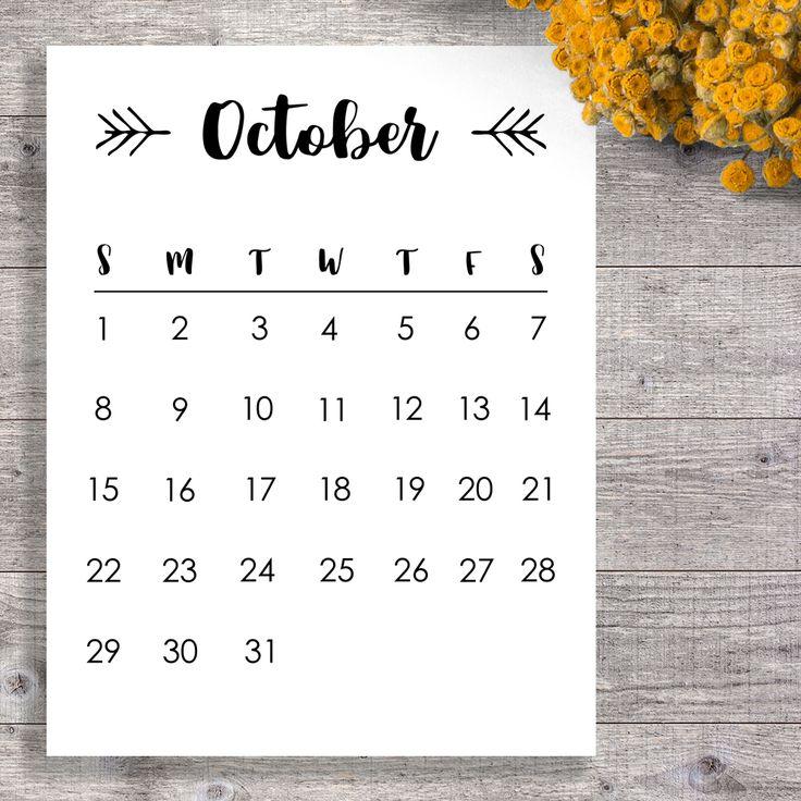 10 best Printable Calendars images on Pinterest Free printable - printable calendars