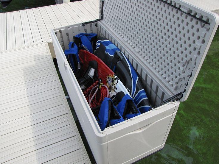 Dock sides vertical kayak rack for storing your kayak next
