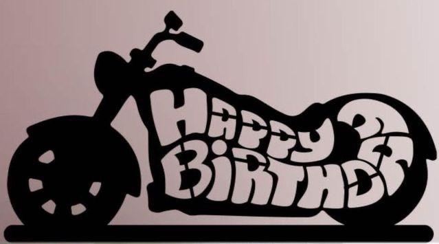 Pin By Alicia Camardelli On Happy Birthday Happy Birthday Motorcycle Happy Birthday Biker Happy Birthday Man