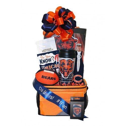 Chicago Bears gift basket