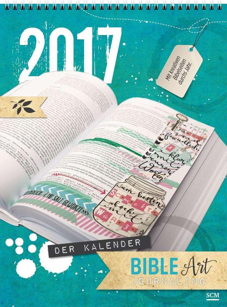 Bible Art Journaling Kalender 2017