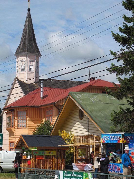 frutillar chile | Foto: Street in Frutillar - Chile, Frutillar - GEO-Reisecommunity