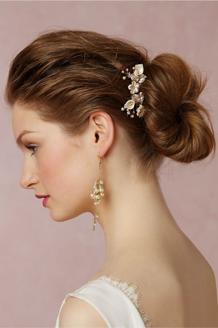 Br Bridal Headpieces Twigs And Honey - Bhldn s twigs honey petite flora hairpins 2 in pearl bohemian hairstylesbridal