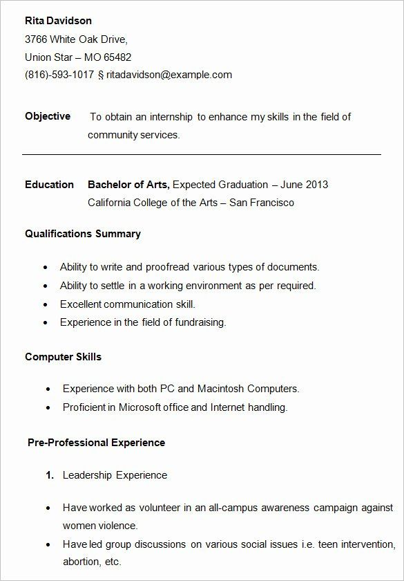 Resume Samples For College Student Lovely 24 Best Student Sample Resume Templates Wisestep In 2020 Sample Resume Templates Student Resume College Resume Template