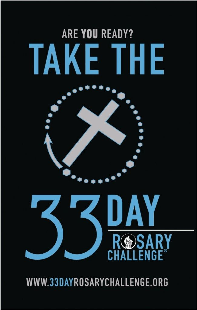 Lisa's taking on the 33 Day Rosary Challenge — find out how you can be involved too!