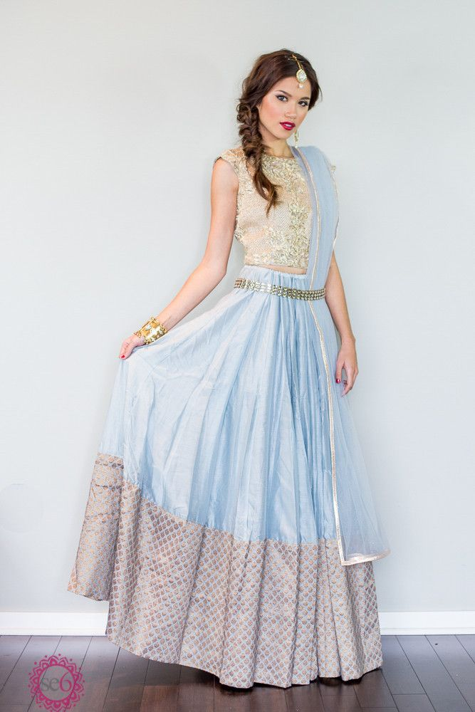 Studio East6 - The Mumtaz Lehenga http://www.studioeast6.com/collections/lehenga/products/the-mumtaz