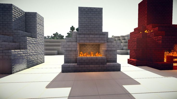 13 best Minecraft Fireplaces images on Pinterest ...
