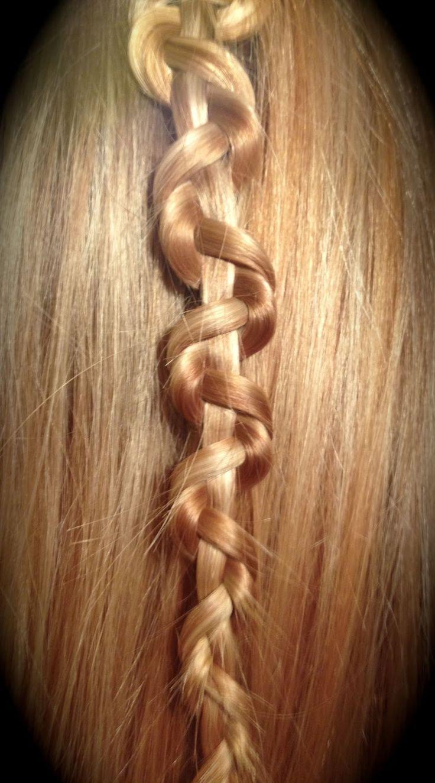 Snake Braid: hair tutorial