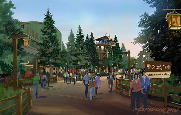 Grizzly Peak Airfield Concept Art