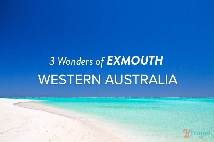 3 Natural Wonders of Exmouth, Western Australia
