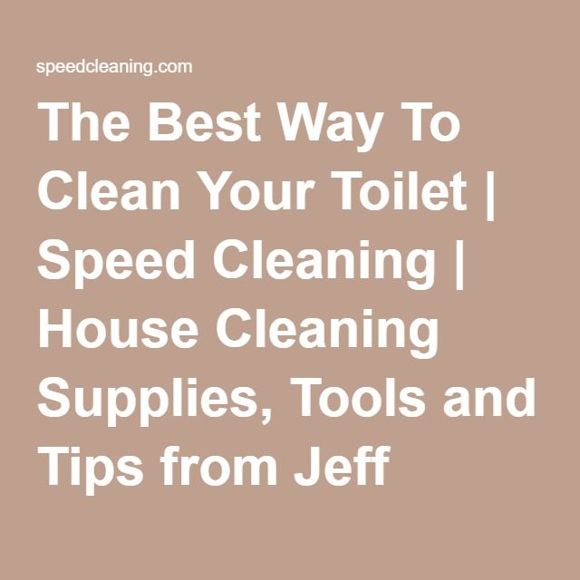 16 best clean team project images on pinterest speed cleaning the best way to clean your toilet speed cleaning house cleaning supplies tools fandeluxe Image collections