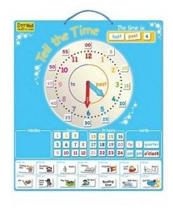 Doowell Tell The Time $29.95 #sweetcreations #education #family #organisation #learning #charts