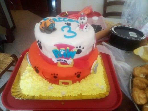 Torta compleanno -Paw Patrol -