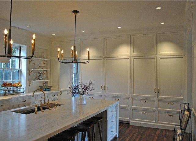 White Kitchen #Cabinets