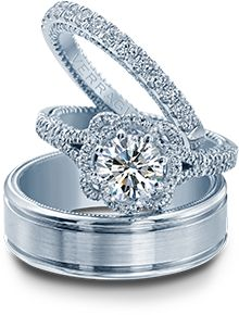 Bridal Ring Sets - Verragio   Designer Engagement Rings and Wedding Rings by Verragio