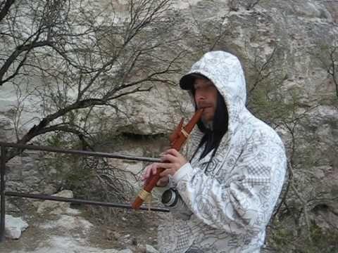 My Big Bro - on the flute - Montezuma Castle National Monument - thank you beyond words EK!!