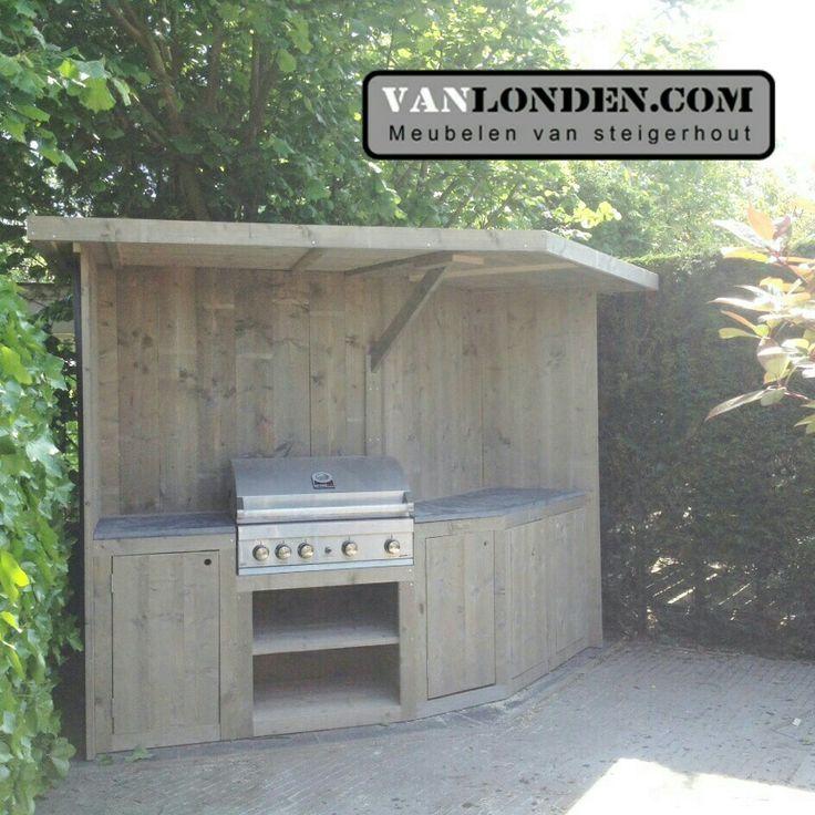 17 beste idee n over tuin onder afdak op pinterest staking kelder patio achtertuin patio en patio - Barbecue ontwerp ...