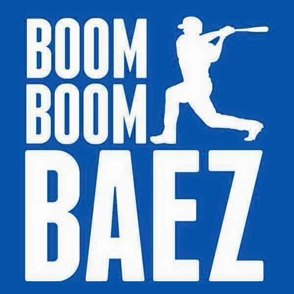Javier Baez #LetsGoCubs