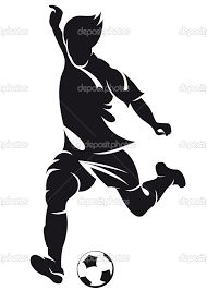 Image result for soccer player goalie silhouette
