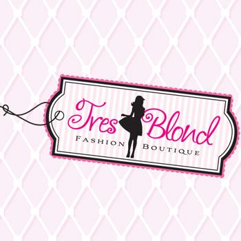 Tres Blond Fashion Boutique Logo