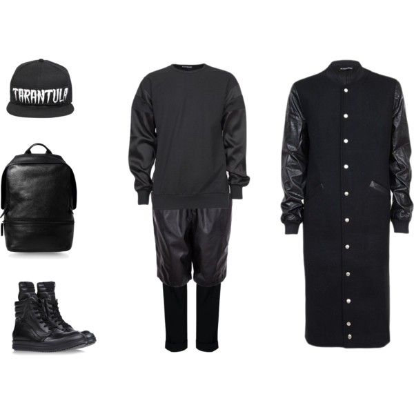 """""""Street Goth Takeover"""" by black-blessed on Polyvore"""