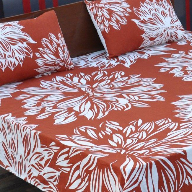 Chrysanthemum Bedsheet-II