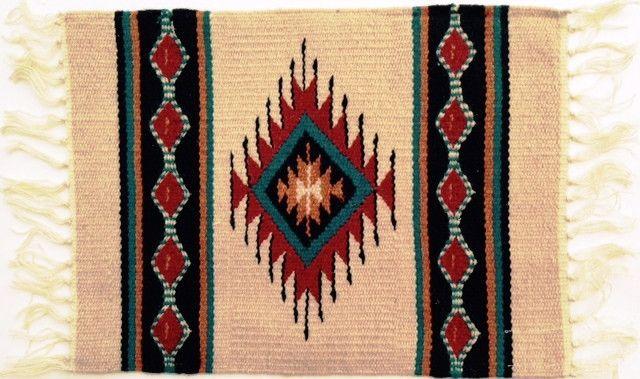 (EPHIM1520-3) Woolen Southwestern Placemat