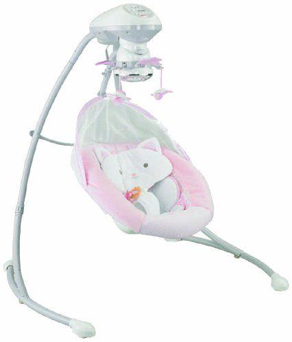 FisherPrice My Little Snugakitty Cradle N Swing Fisher
