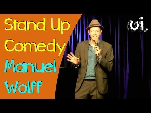 Satire & Comedy: Aktuelle Gags! (Stand Up Comedy Manuel Wolff) | ui. der blog.