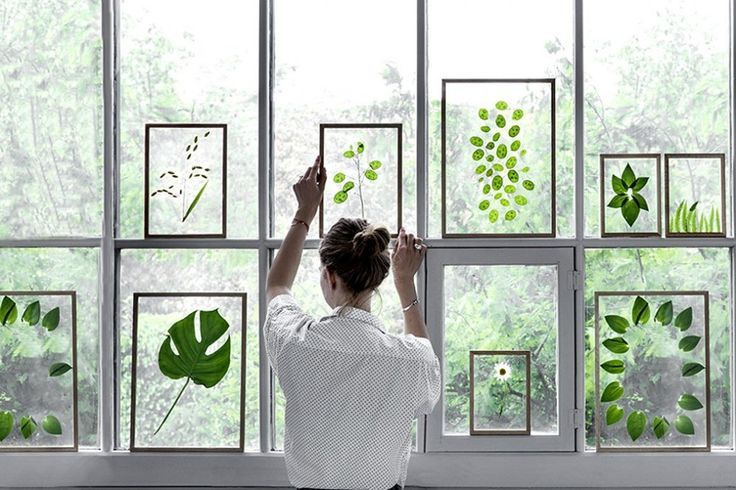 awesome DIY Gift Idea // Minimalist Framed Floating Leaves & Flowers by http://www.99homedecorpictures.us/minimalist-decor/diy-gift-idea-minimalist-framed-floating-leaves-flowers/