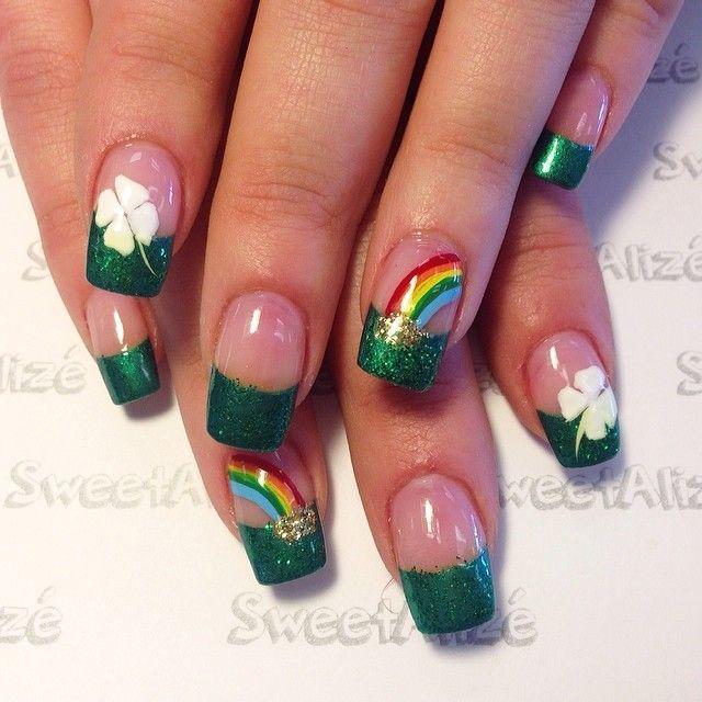 sweetalize st patrick's day #nail #nails #nailart