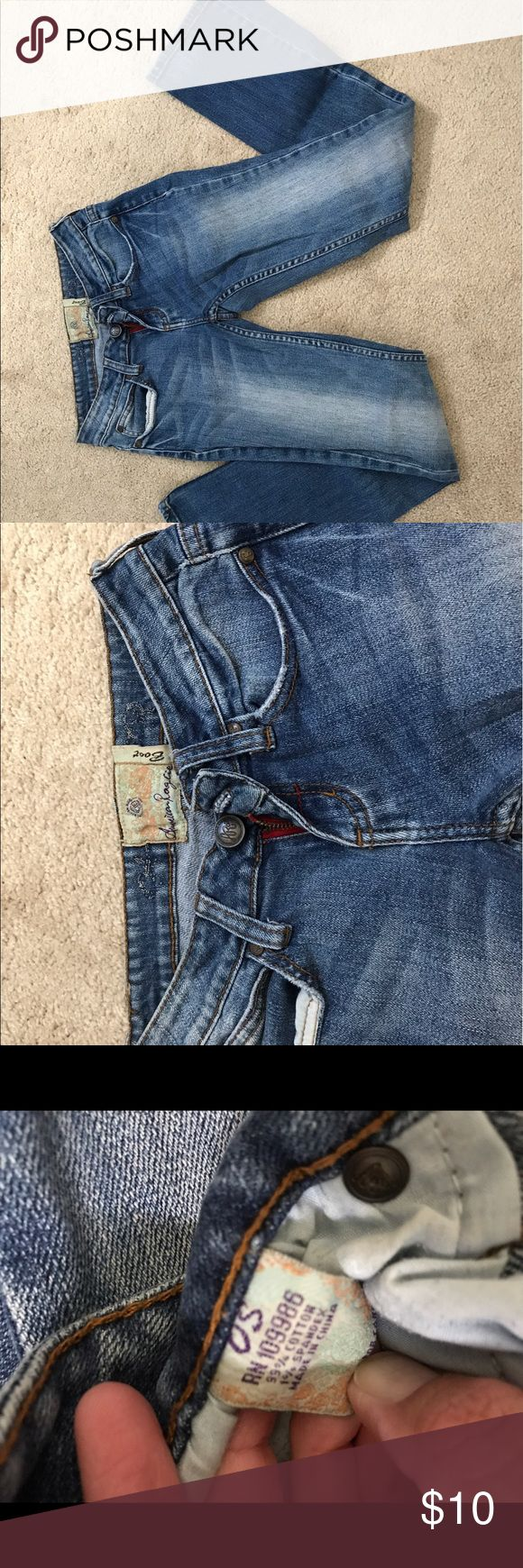 Size 0/ short Boot cut American Rag Great used condition! Size 0, short American Rag Jeans Boot Cut