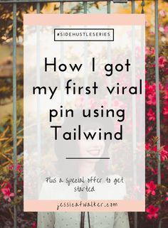 How I got my first viral Pin on Pinterest. Here's exactly what I did, plus tips for making your own vial Pin.