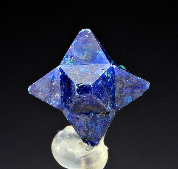 It's not everyday you see a crystal shaped like this! Cumengite from Mexico. Loving the color as well!